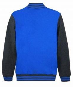 Superman Blue Letterman Jacket