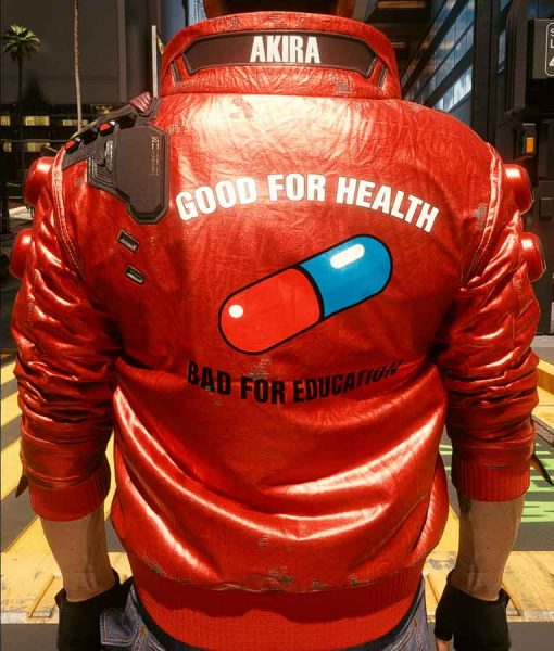 Cyberpunk 2077 Akira Kaneda Red Capsule Jacket