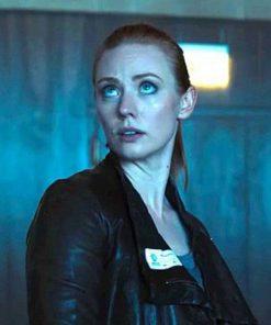 Amanda Harper Escape Room Leather Jacket