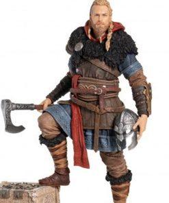 Assassin's Creed Valhalla Eivor Brown Coat With Fur Collar