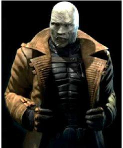 Batman Arkham Hush City Leather Coat