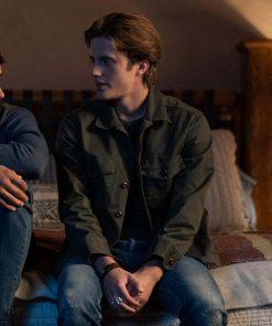 Love, Victor S02 Benji Campbell Green Jacket