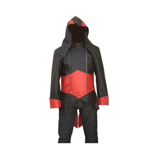 Black And Red Assassins Creed Hoodie