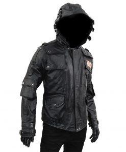 PUBG Black Leather Jacket