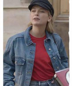 Emily In Paris Camille Razat Denim Jacket