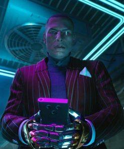 Cyberpunk 2077 Mr. Goldhand Blazer
