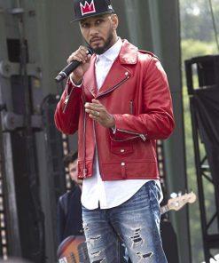 DJ Swizz Beatz Empire Leather Jacket