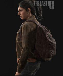Dina The Last Of Us Part II Brown Corduroy Jacket