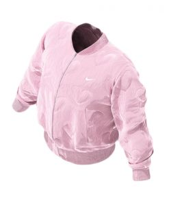 Drake Laugh Now Cry Later Pink Bomber Jacket