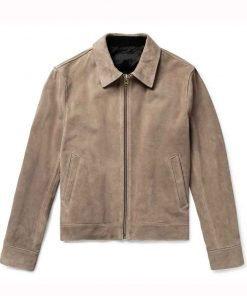 Dynasty Season 04 Liam Ridley Suede Jacket
