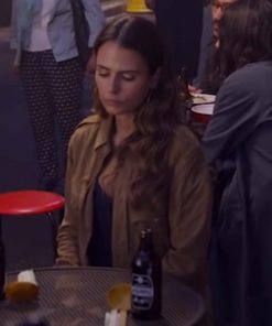Jordana Brewster Fast and Furious 9 Suede Leather Jacket