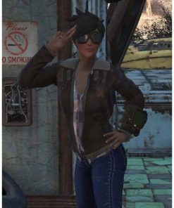 Fallout 76 Tracer Leather Jacket