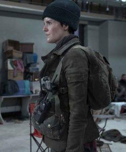 Christine Evangelista TV Series Fear The Walking Dead S06 Brown Jacket