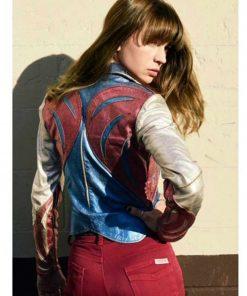 Britt Robertson Girlboss Sophia Leather Jacket