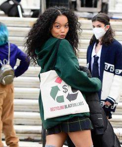 Gossip Girl 2021 Whitney Peak Green Hoodie