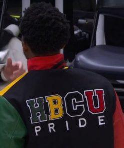Donovan Mitchell Letterman Jacket HBCU Pride Varsity Jacket