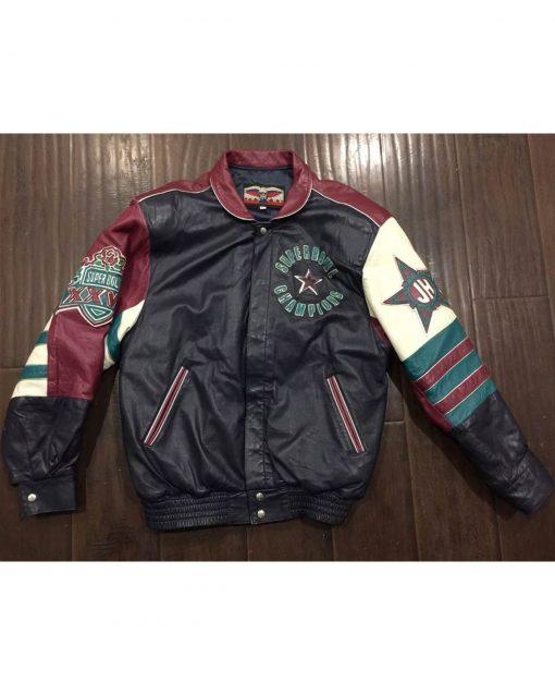 Jeff Hamliton Dallas Cowboy Leather jacket