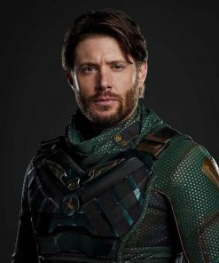Jensen Ackles The Boys Season 3 Leather Vest