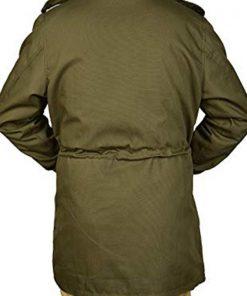John Rambo Mortal Kombat 11 Green Cotton Jacket