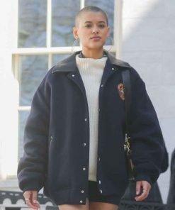Julien Calloway Gossip Girl 2021 Oversize Bomber Jacket