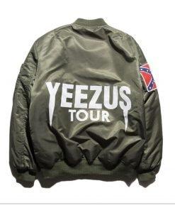 Kanye West Yeezy Confederate Flag Unisex Varsity Jacket