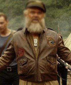 Kong Skull Island John C. Reilly Leather Jacket