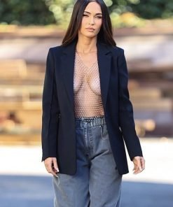 Megan Fox Black Blazer