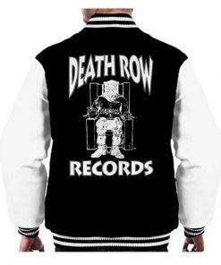 Men's Death Row Records Chair Logo Varsity Jacket