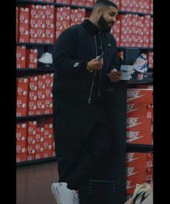 Music Video Laugh Now Cry Later Drake Black Varsity Jacket