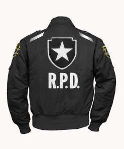 Resident Evil 2 Leon S Kennedy Grey Cotton Jacket