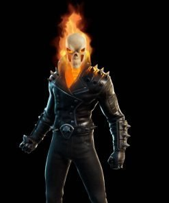 Season 4 Fortnite Chapter 2 Ghost Rider Cup Spikes Leather Jacket