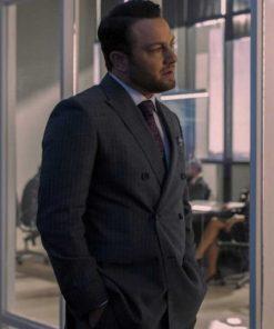 Devon Sex/Life 2021 Jonathan Sadowski Grey Suit