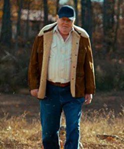 Fenton Lawless Brown Suede Stranger Things Jacket