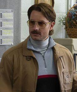 The Exchange Justin Hartley Leather Jacket