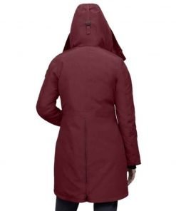 Stella Baker The Republic of Sarah 2021 Red Parka Coat