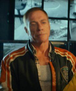 Jean-Claude Van Damme The Last Mercenary Biker Jacket