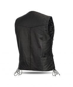 Men's Motorcycle Leather Vest