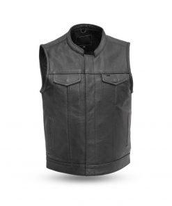 Blaster Mens Motorcycle Leather Vest