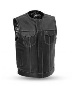 Men's Bandit Club Leather Vest | Bandit Club Vest for Sale