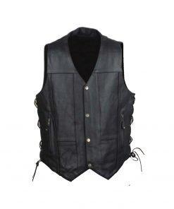 Men's 10 Pocket Vest (Black)