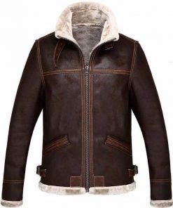 Resident Evil 4 Shearling Leather Jacket