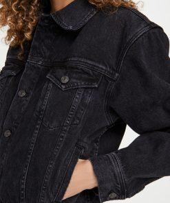 Melinda Monroe Black Denim Jacket