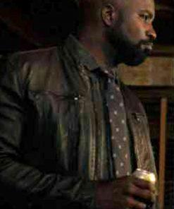 David Acosta Evil Season 2 Leather Jacket