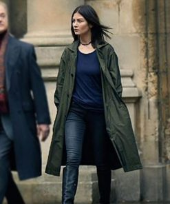 Malin Buska TV Series A Discovery Of Witches Cotton Coat