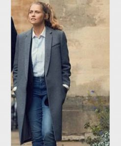 Teresa Palmer A Discovery of Witches Grey Coat