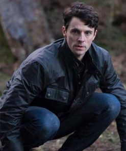 Matthew Goode TV Series A Discovery of Witches Leather Jacket