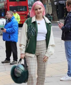 Anne-Marie-Our-Song-Green-Jacket