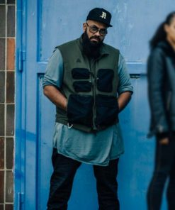 Guz Khan Army of Thieves 2021 Rolph Green and Black Cotton Vest