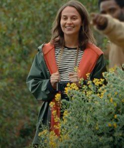 April Beckett 2021 Alicia Vikander Jacket