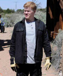 Todd TV Series Breaking Bad Black Cotton Jesse Plemons Jacket
